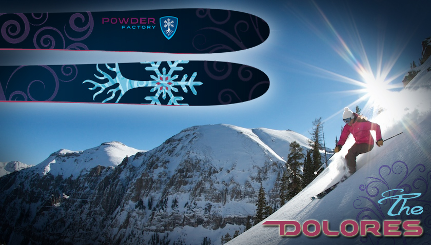 Powder Factory Skis - Dolores