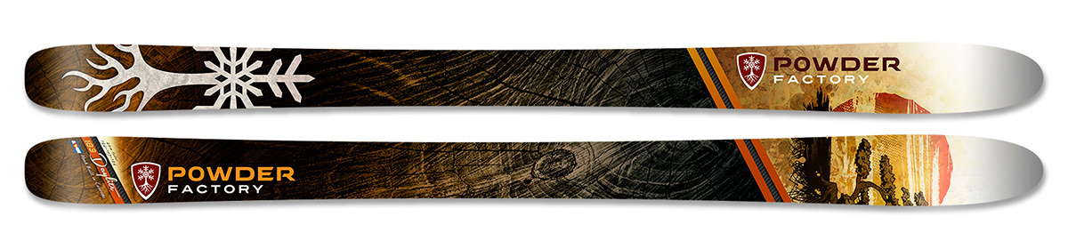 Powder Factory Skis - Daylite