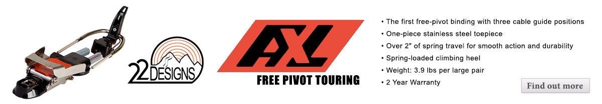 22 Designs AXL Telemark Binding