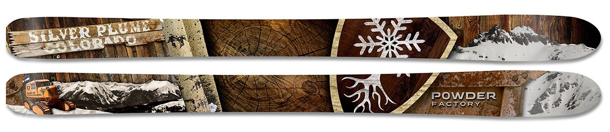 Powder Factory Custom Skis