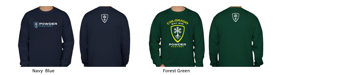 Powder Factory Long Sleeve T-Shirts