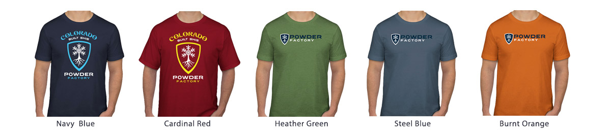 Powder Factory T-Shirts