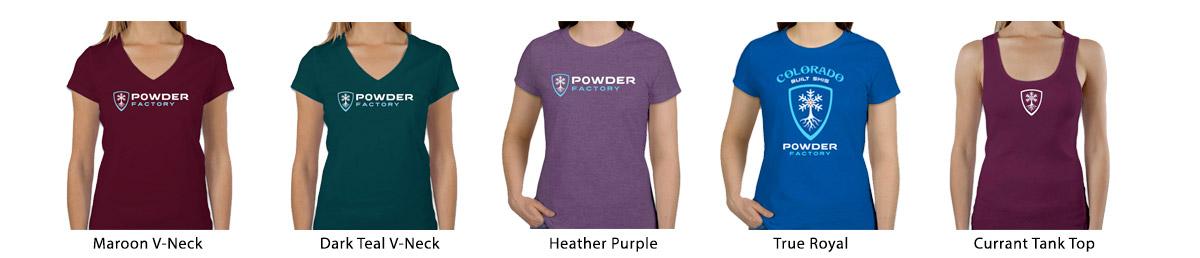 Powder Factory Womens Shirts