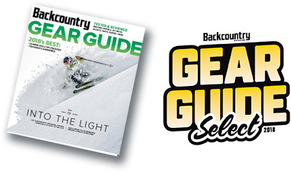 Backcountry Magazine 2018 Gear Guide Select